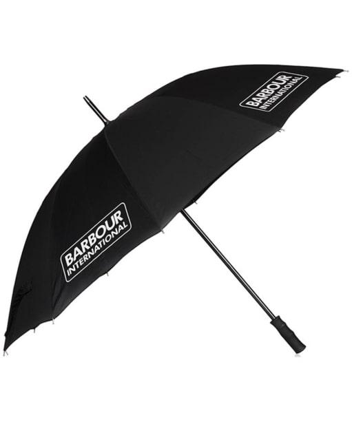 Barbour International Reflective Umbrella - Black