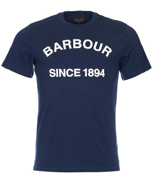 Men's Barbour Tiverton Tee - Navy