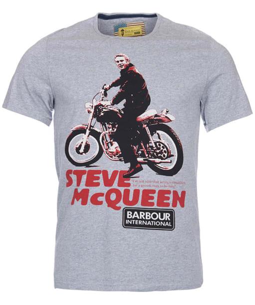 Men's Barbour Steve McQueen Park Tee - Grey
