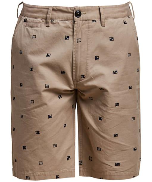 Men's Barbour Flags Shorts - Stone