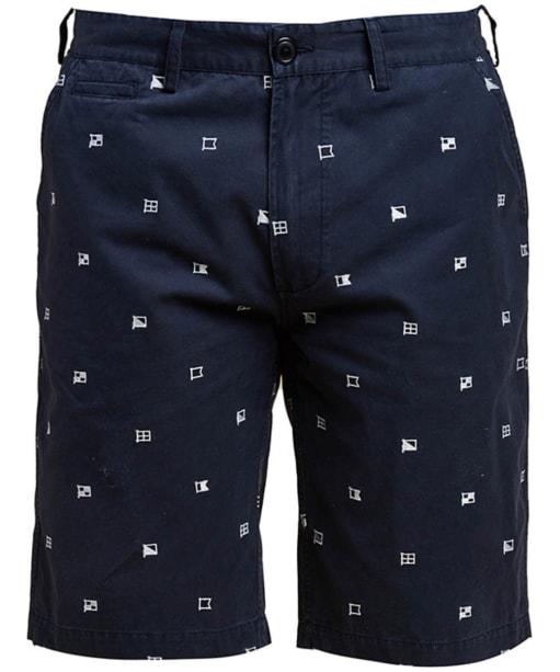 Men's Barbour Flags Shorts - Navy