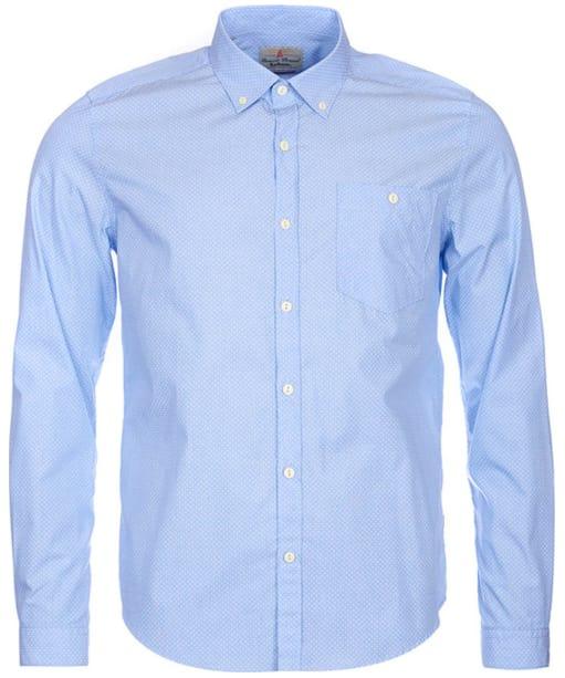 Men's Barbour Damien Shirt - Sky Blue