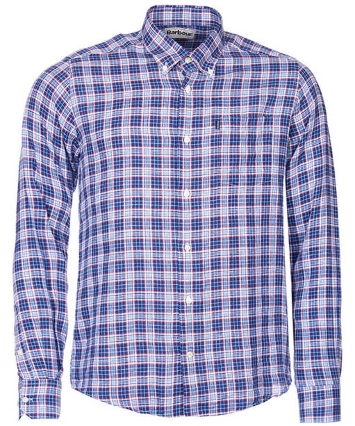 Men's Barbour Alfred Shirt  - Navy Check