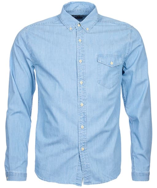 Men's Barbour International Speedrome Shirt - Heavy Bleach