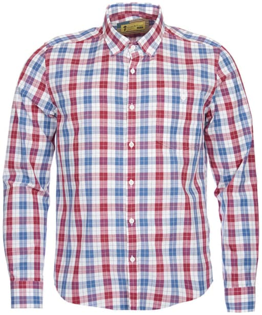 Men's Barbour Steve McQueen Indiana Shirt - Off White Check