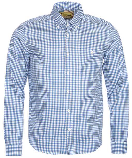 Men's Barbour Steve McQueen Racing Shirt - Blue Check