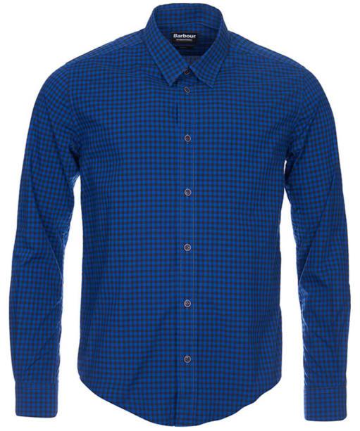 Men's Barbour International Miller Shirt - Atlantic Blue