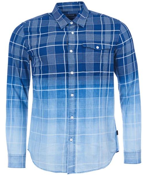 Men's Barbour International Black Hawk Shirt - Indigo