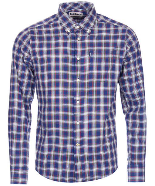 Men's Barbour Warren Check Shirt - Navy Check