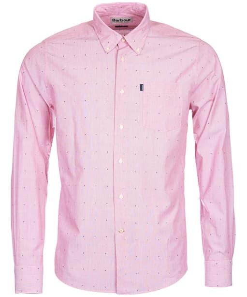 Men's Barbour Cuthbert Shirt - Rich Red
