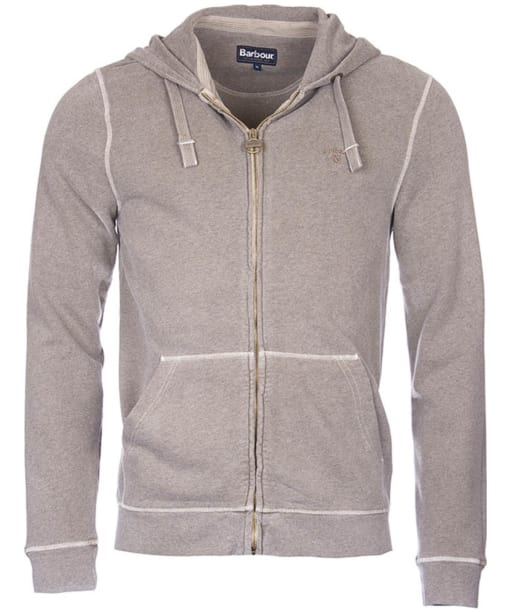 Men's Barbour Garment Dyed Hoody - Concrete