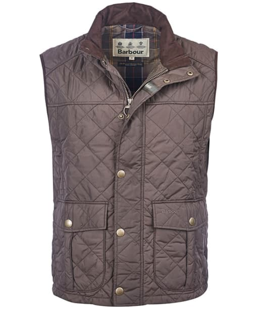 Men's Barbour Explorer Gilet - Dark Olive