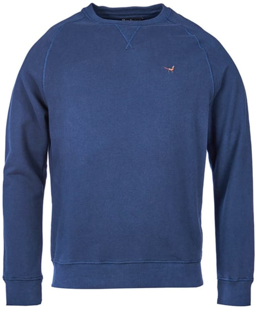 Men's Barbour Simms Crew Neck Sweater - Navy