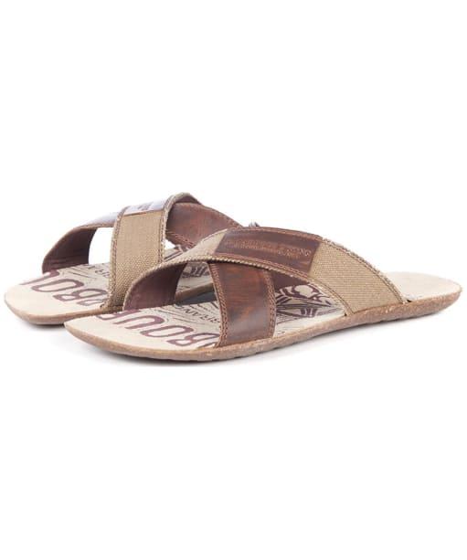 Men's Barbour Newton Sandals - Beige