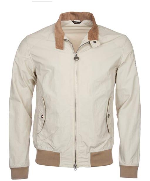Men's Barbour Steve McQueen Rectifier Harrington Casual Jacket - Fog