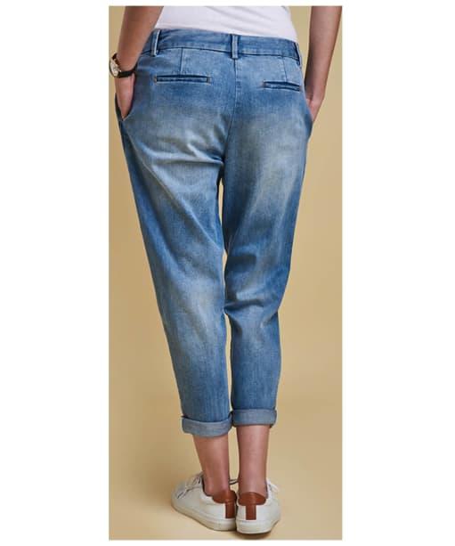Women's Barbour Heritage Jeans - Light Wash