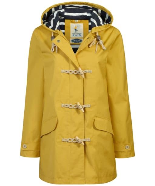 Women's Seasalt Long Seafolly Jacket - Mustard