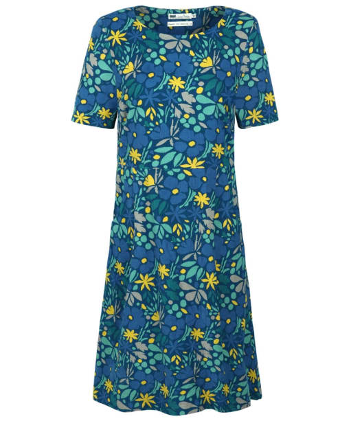 Women's Seasalt Nodding Heads Dress - Kaye's Floral Aquatic