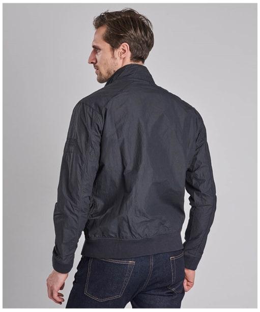 Men's Barbour Steve McQueen Rectifier Harrington Casual Jacket - Navy