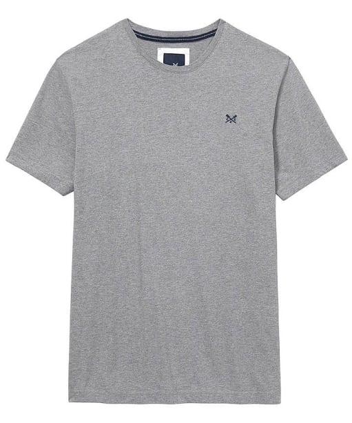 Men's Crew Clothing Crew Classic T-Shirt - Light Grey Marl
