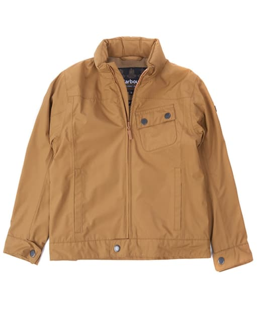 Boy's Barbour International Bolt Waterproof Jacket, 10-15yrs - Camel