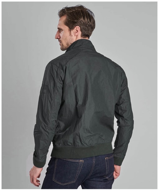 Men's Barbour Steve McQueen Rectifier Harrington Casual Jacket - Sage