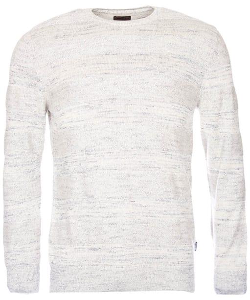 Men's Barbour Vernon Crew Neck Sweater - Ecru