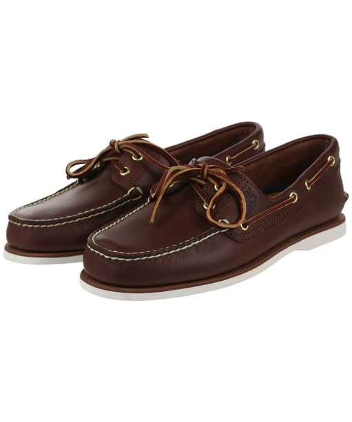 Men's Timberland Icon Classic Shoes - Dark Brown