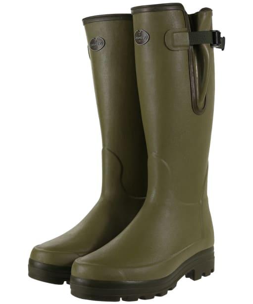 Men's Le Chameau Vierzonord Wellington Boots - 41 cm calf - Green