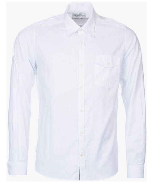 Men's Barbour Forge Shirt - White