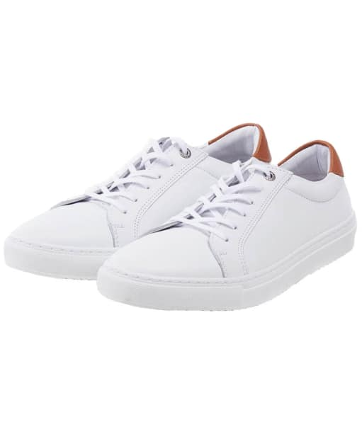 Women's Barbour Natalie Cupsole Trainers - White