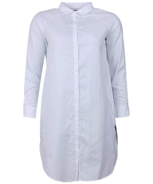 Women's Barbour Flecked Shirt Dress - White