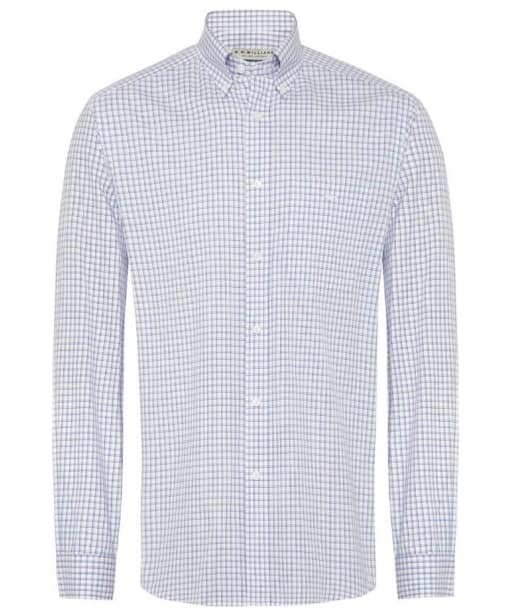 Men's R.M Williams Collins Shirt - Blue / White
