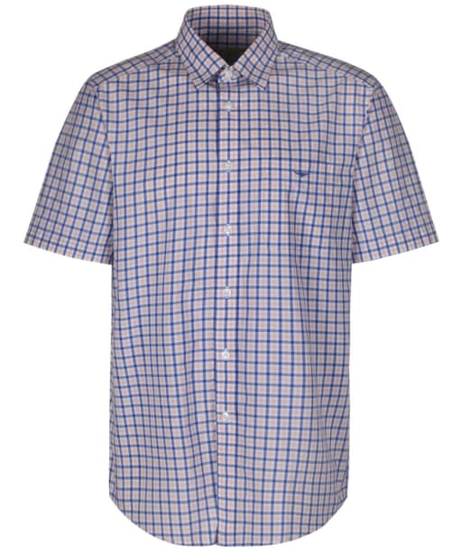 Men's R.M Williams Hervey Checked Shirt - Pink / Blue