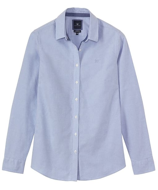Women's Crew Clothing Classic Oxford Shirt - Classic Blue