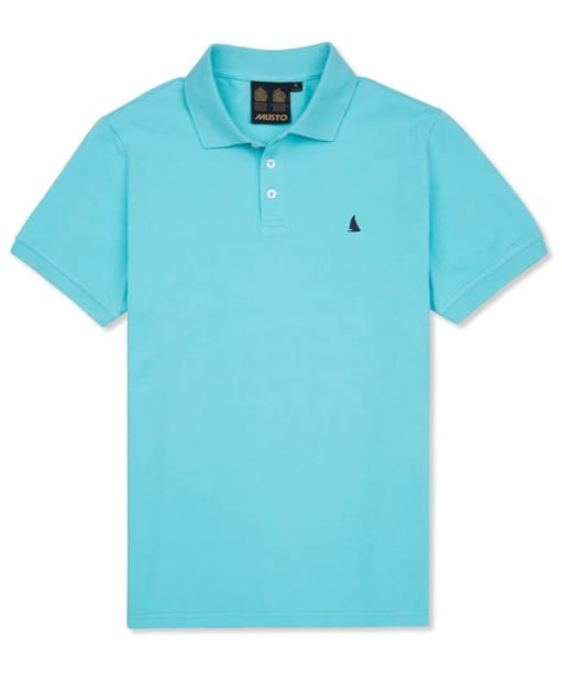 Men's Musto Flyer II Polo Shirt - Lagoon