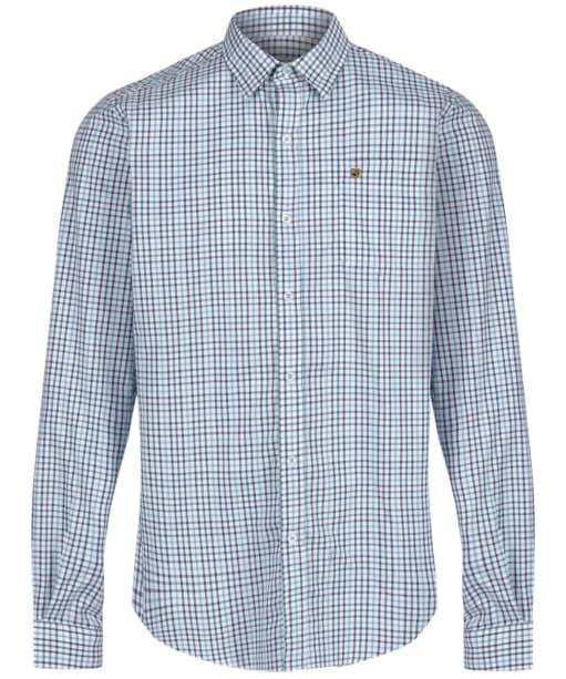 Men's Dubarry Ballincollig Long Sleeve Shirt - Teal Multi