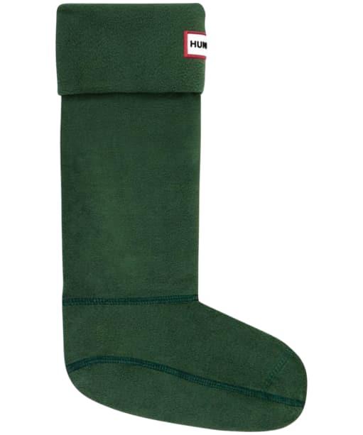 Hunter Fleece Welly Socks Adult - Hunter Green