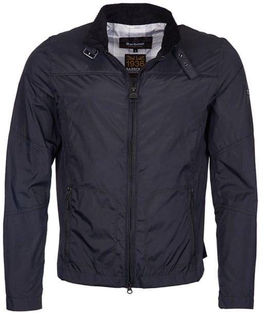 Men's Barbour International Tailored Track Jacket - Black