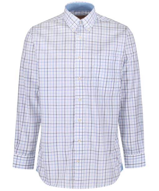 Men's Schoffel Holkham Shirt - Coastal Blue