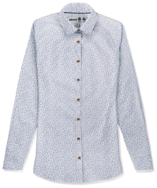 Women's Musto Country Printed Shirt - Spring Blue