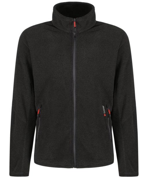 Men's Musto Bowman Fleece Jacket - Charcoal / Black