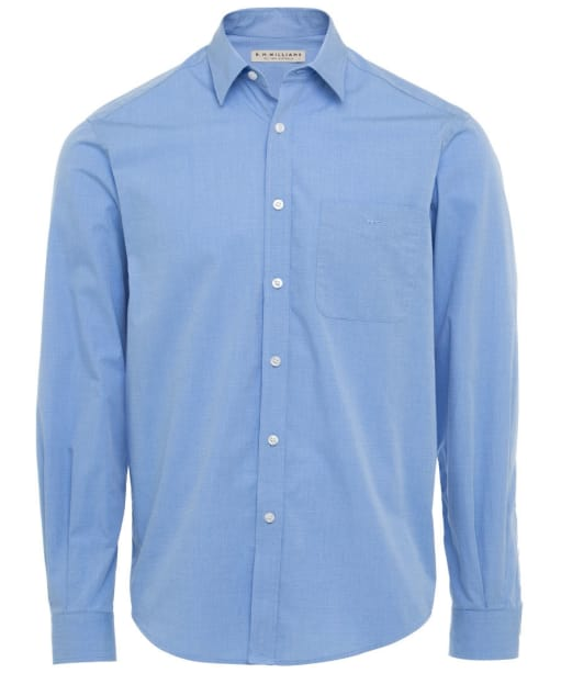R.M. Williams Collins Regular Fit Shirt - Light Blue