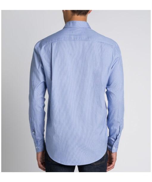 R.M. Williams Collins Regular Shirt - Blue / White