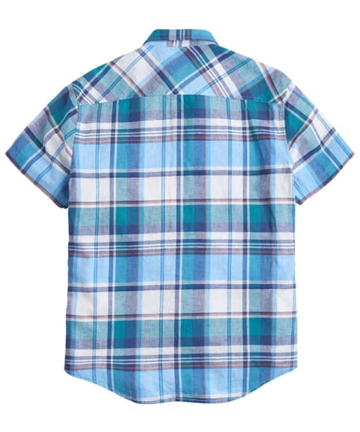 Men's Joules Wilson Linen Shirt - Turquoise