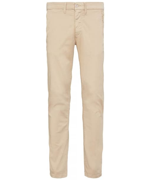 Men's Timberland Lake Washed Lightweight Sateen Slim Chinos  - British Khaki