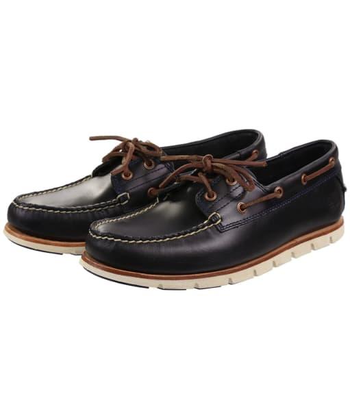 Men's Timberland Tidelands 2-Eye Boat Shoes - Dark Indigo Brando