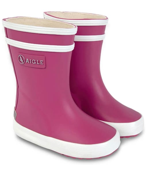 Baby Aigle Flac Rain Boots - New Rose