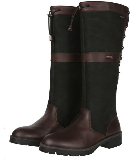 Women's Dubarry Glanmire Boots - Black / Brown