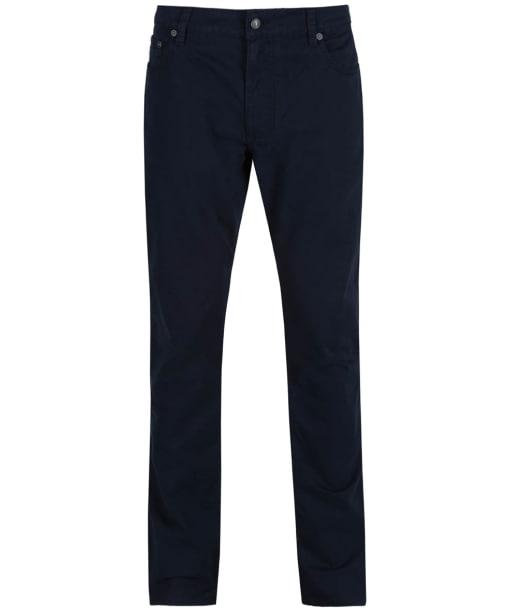 Men's Hackett Trinity Cotton Twill Trousers - Navy